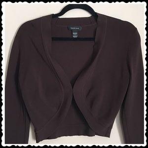 Spense Brown Cardigan Size Sm
